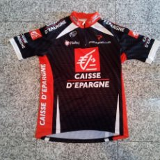 Coleccionismo deportivo: MAILLOT CICLISMO CAISSE D'ÉPARGNE 2008 VALVERDE PURITO ERVITI CHENTE CYCLING JERSEY. Lote 254870560