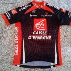 Coleccionismo deportivo: MAILLOT CICLISMO CAISSE D'ÉPARGNE 2008 VALVERDE PURITO NALINI CYCLING JERSEY. Lote 254871380