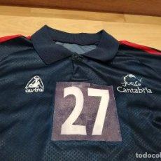 Coleccionismo deportivo: CAMISETA SELECCIÓN CANTABRIA (BALONMANO) MATCH WORN. Lote 255513130