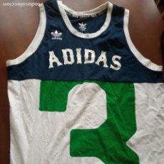 Coleccionismo deportivo: ADIDAS RETRO BASKET CAMISETA SHIRT BASQUET L. Lote 256113410