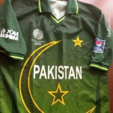 Coleccionismo deportivo: CRICKET PAKISTAN CAMISETA SHIRT XL. Lote 256113600