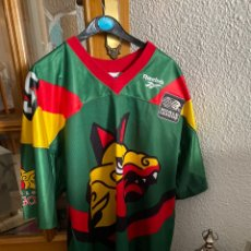 Coleccionismo deportivo: BARCELONA DRAGONS CAMISETA REEBOK SHIRT WORLD LEAGUE #95 TALLA L AÑOS '90 . EXCELENTE ESTADO. Lote 260704620