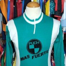 Coleccionismo deportivo: MAILLOT CICLISMO TEAM PUCH AÑOS 80S TREVER ALGODON SHIRT TRIKOT MAGLIA. Lote 264824339