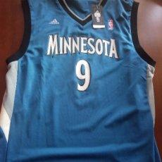 Coleccionismo deportivo: RICKY RUBIO NBA LUXE MINNESOTA CAMISETA BASKET BASQUE SHIRT L. Lote 267754854