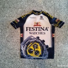 Coleccionismo deportivo: MAILLOT CICLISMO FESTINA 98 ZÜLLE VIRENQUE DUFAUX CYCLING JERSEY. Lote 268579104