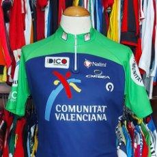 Coleccionismo deportivo: MAILLOT CICLISMO COMUNITAT VALENCIANA ORBEA NALINI. Lote 268947219