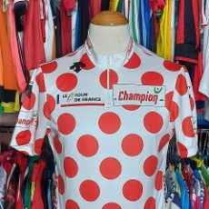 Coleccionismo deportivo: MAILLOT CICLISMO LIDER MONTAÑA TOUR DE FRANCE 2006 CHAMPION. Lote 268949239