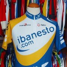 Coleccionismo deportivo: MAILLOT CICLISMO TEAM IBANESTO 2003 NALINI PINNARELLO. Lote 268951559