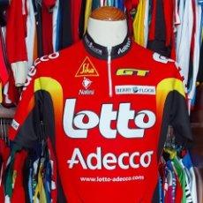 Coleccionismo deportivo: MAILLOT TEAM LOTTO ADECCO TOUR 2001 NALINI. Lote 268953889