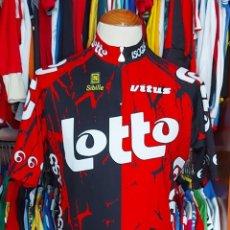 Coleccionismo deportivo: MAILLOT CICLISMO TEAM LOTTO 1996 SIBILE VITUS. Lote 268954509