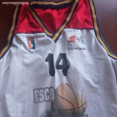 Coleccionismo deportivo: ESPLUGUES BASQUET L CAMISETA BASKET BASQUET SHIRT. Lote 269202298