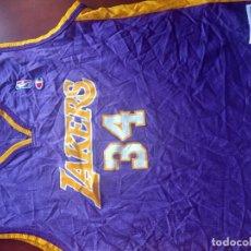 Coleccionismo deportivo: LAKERS O NEAL LEGEND CAMISETA SHIRT BASKET BASQUET NBA XL. Lote 269202958