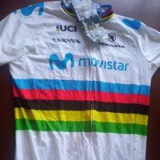 Coleccionismo deportivo: MOVISTAR LUXE VALVERDE M CICLISMO CICLISTA MAILLOT JERSEY CYCLING. Lote 269203093