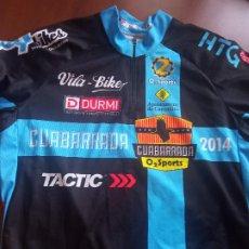 Coleccionismo deportivo: CUABARRADA XL CICLISMO CICLISTA MAILLOT JERSEY CYCLING. Lote 269203213