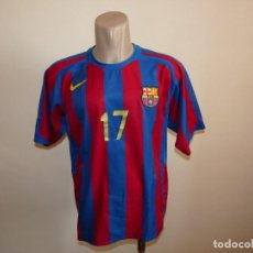 Coleccionismo deportivo: CAMISETA BALONMANO F.C. BARCELONA NIKE. Lote 269230638