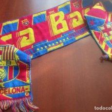 Coleccionismo deportivo: FC BARCELONA SCARF FOOTBALL FUTBOL BUFANDA. Lote 271014228