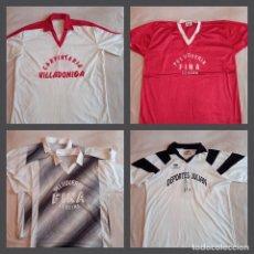 Coleccionismo deportivo: LOTE CAMISETAS INICIOS FÚTBOL-SALA GALICIA. (1980-1982). Lote 275173288