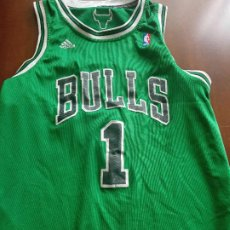 Collectionnisme sportif: CHICAGO BULLS GREEN VERSION XL NBA CAMISETA BASKET BASQUET SHIRT. Lote 275230643