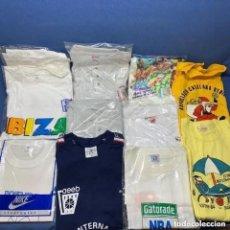 Coleccionismo deportivo: LOTE DE 11 CAMISETAS VINTAGE - AÑOS 90 - BALONCESTO - BASKETBALL - VARIADAS. Lote 276534683