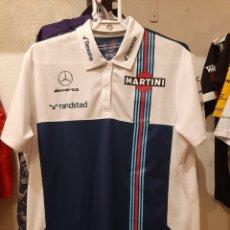 Coleccionismo deportivo: POLO / CAMISETA OFICIAL WILLIAMS MARTINI RACING F1. Lote 283204913