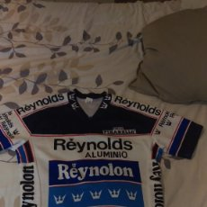 Collectionnisme sportif: MAILLOT REYNOLDS AÑOS 80. Lote 287653583