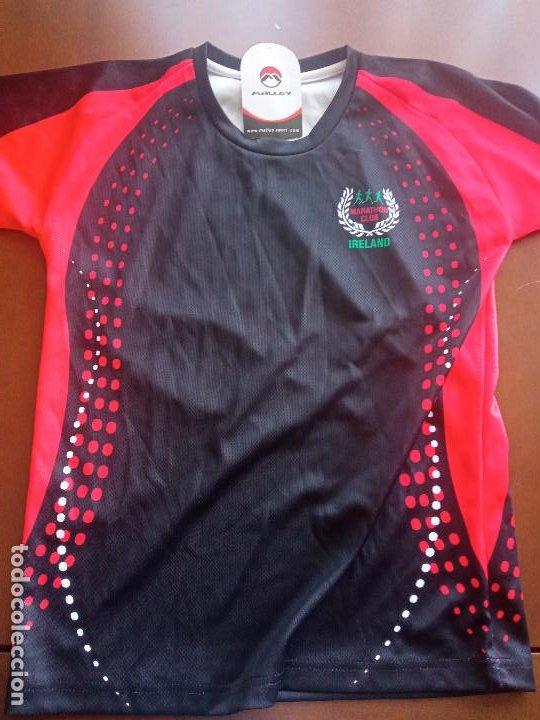 MARATHON CLUB ATLETISMO IRLANDA IRELAND EQU M CAMISETA SHIRT (Coleccionismo Deportivo - Ropa y Complementos - Camisetas otros Deportes)