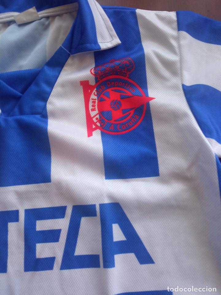 Coleccionismo deportivo: Deportivo de la coruña section shirt camiseta deporte seccion XS - Foto 2 - 287785653