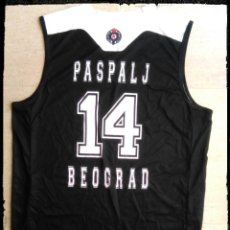 Coleccionismo deportivo: CAMISETA BALONCESTO PARTIZAN BELGRADO SERBIA BASKET YUGOSLAVIA PASPALJ. Lote 288501983