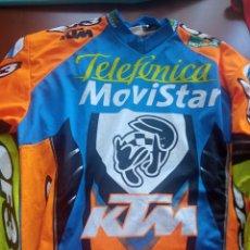Colecionismo desportivo: JAVI GARCIA VICO KTM MATCH WORN MOTOCROSS TRIAL LEGEND CAMISA JERSEY FOR PLAYER XL. Lote 293257278