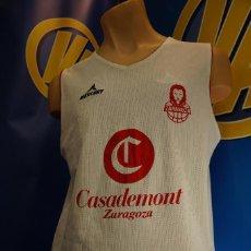 Coleccionismo deportivo: CAMISETA REVERSIBLE DE ENTRENAMIENTO BASKET ZARAGOZA. MERCURY. TALLA XXL.. Lote 295026043