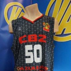 Coleccionismo deportivo: CAMISETA CLUB BALONCESTO ZARAGOZA. ARCAU Nº 50. 3XL. GRIS.. Lote 295039558