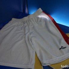 Coleccionismo deportivo: PANTALONES CORTOS BALONCESTO MERCURY. ZARAGOZA. TALLA XXL. BLANCO.. Lote 295289588