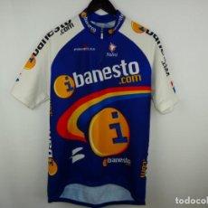 Coleccionismo deportivo: MAILLOT CICLISMO IBANESTO NALINI. Lote 295845198