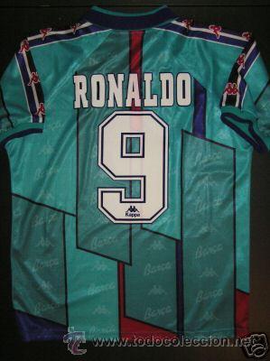Camiseta oficial fc barcelona 1996-97 ronaldo   - Sold through ... f47c53ad2
