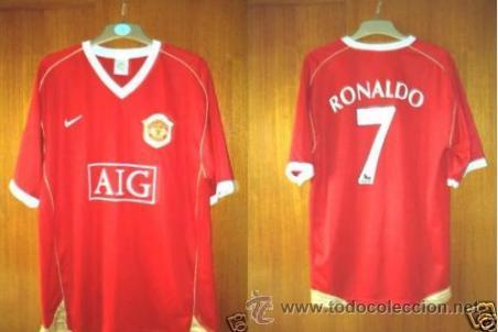 discordia Cubo veterano  Camiseta nike manchester united cristiano ronal - Sold through ...