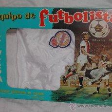 Coleccionismo deportivo: EQUIPO DE FUTBOLISTA - EQUIPACIÓN DEL REAL MADRID - RIVESA, AÑOS 70.. Lote 27137643