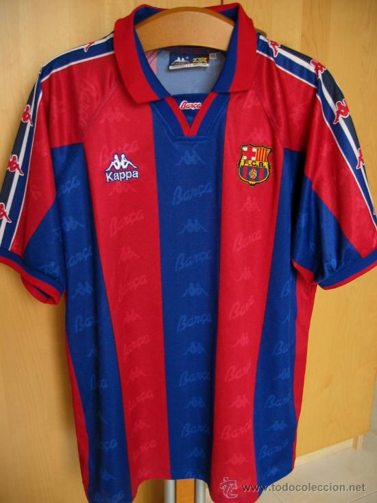 barça camiseta kappa N 4 guardiola jugador del fc barcelona firmada por el  pep miren fotos la misma 5114eec1bc907