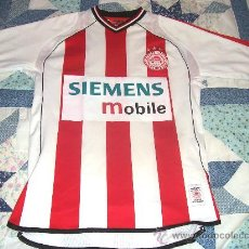 Coleccionismo deportivo: CAMISETA DE FUTBOL // OLYMPIAKOS // GRECIA // UMBRO // TEMPORADA 2002 - 2003. Lote 24819861