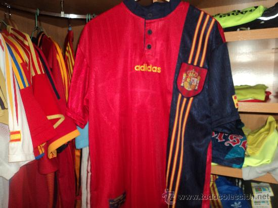 Camiseta seleccion española adidas (eurocopa i - Vendido en Venta ... 77b1eefdd2e1f