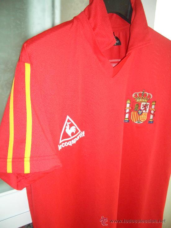 858ae519eb0a9 Camiseta seleccion española butragueño retro 86 - Vendido en Venta ...