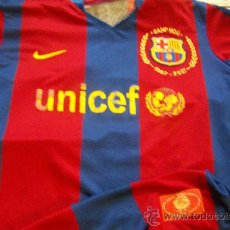 Coleccionismo deportivo: CAMISETA FUTBOL FC BARCELONA BARÇA NIKE UNICEF CAMP NOU RARA! . Lote 27964375