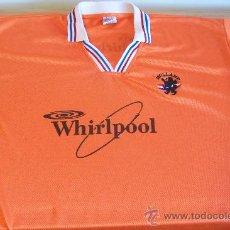 Coleccionismo deportivo: CAMISETA DE FUTBOL HOLANDA VINTAGE WHIRLPOOL. Lote 153074838