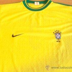 Coleccionismo deportivo: CAMISETA FUTBOL BRASIL NIKE 9 RONALDO. Lote 28038218