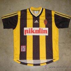 Sports collectibles - CAMISETA FUTBOL.ORIGINAL ADIDAS.REAL ZARAGOZA.PIKOLIN.TALLA S.. - 28868766