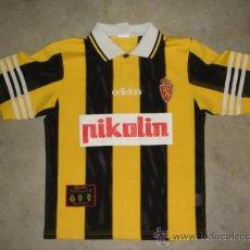 Sports collectibles - CAMISETA ORIGINAL ADIDAS.REAL ZARAGOZA.TALLA S.PIKOLIN.. - 28939269