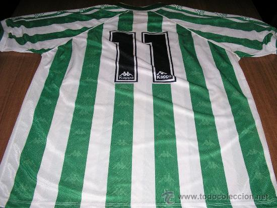 Regularidad Chicle preferir  Camiseta alfonso real betis kappa años 90 #11 - Sold through Direct Sale -  29075064