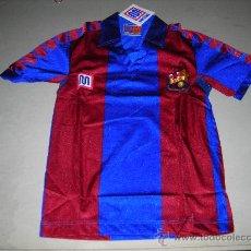 Coleccionismo deportivo: (M) CAMISETA FC BARCELONA MARCA MEYBA AÑOS 80 PARA ESTRENAR, TALLA 00,. Lote 137329746