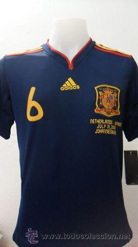 Adidas Camiseta España Campeones del Mundo Futbol 2010 (Rojo)