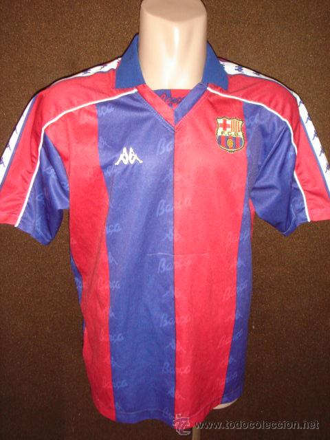 CAMISETA ORIGINAL KAPPA.FUTBOL CLUB BARCELONA.RIVALDO.TALLA XL.  (Coleccionismo Deportivo 42181e970c4ff