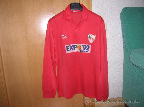 segunda equipacion Sevilla FC deportivas